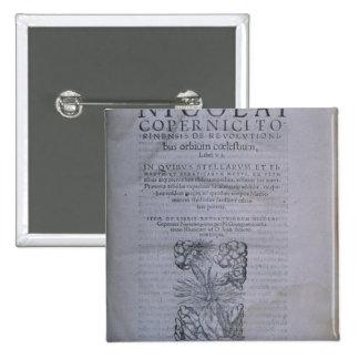 Frontispiece de la segunda edición pin cuadrada 5 cm