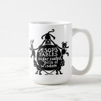 Frontispiece de las fábulas de Esopo Taza De Café