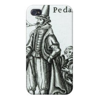 Frontispiece de 'Pedantius iPhone 4/4S Funda