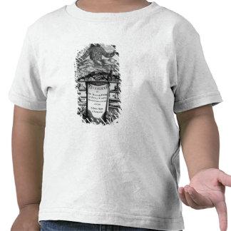 Frontispiece de Thomas Hobbes de Malmesbury Camisetas