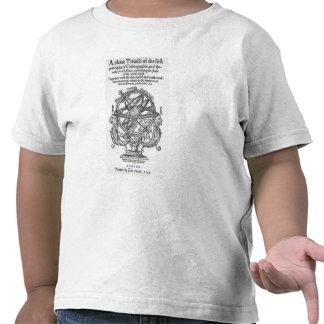 Frontispiece 'de un � llano del tratado ' camiseta