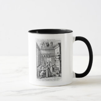 Frontispiece 'del Compleat Housewife Taza