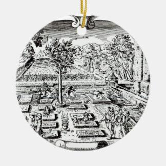 """Frontispiece, """"del Herball"""", por Juan Gerard ( Adornos De Navidad"""