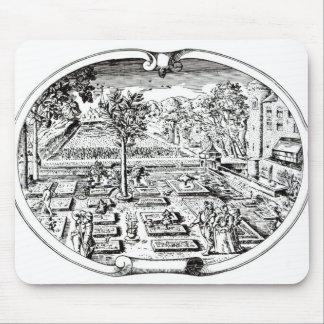 """Frontispiece, """"del Herball"""", por Juan Gerard ( Tapetes De Ratones"""