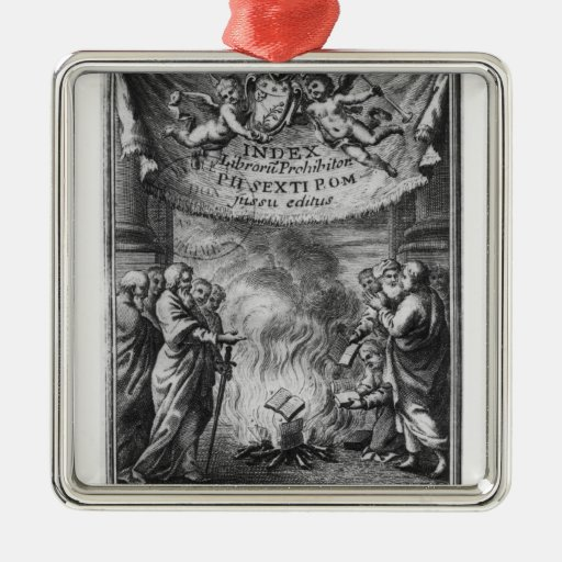 Frontispiece del 'índice Librorum Prohibitorum Ornamentos Para Reyes Magos