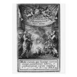 Frontispiece del 'índice Librorum Prohibitorum Tarjeta Postal