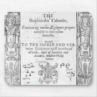 Frontispiece 'del Shepeards Calendar Mouse Pad