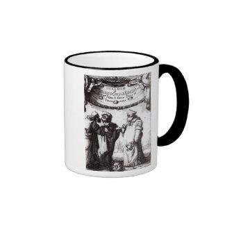 Frontispiece 'Dialogo sopra I due massimi�' Ringer Coffee Mug
