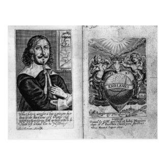 Frontispiece  'Emblems' Postcard