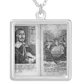 Frontispiece  'Emblems' Silver Plated Necklace