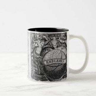 Frontispiece  'Emblems' Two-Tone Coffee Mug