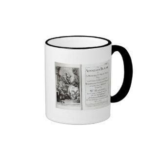 Frontispiece for Apollo's Feast, c.1734 Ringer Coffee Mug