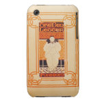 Frontispiece for 'One Red Letter' (colour litho) Case-Mate iPhone 3 Cases