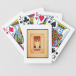 Frontispiece for 'One Red Letter' (colour litho) Bicycle Playing Cards