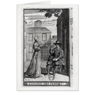 Frontispiece for the First Edition Card