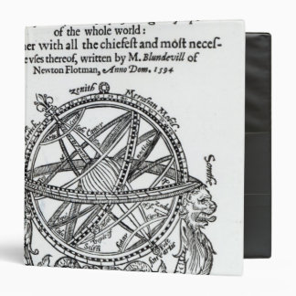 Frontispiece from 'A Plain Treatise �' 3 Ring Binder