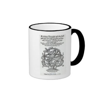 Frontispiece from 'A Plain Treatise �' Ringer Coffee Mug