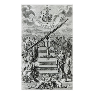 Frontispiece 'Oculus Artificialis Poster