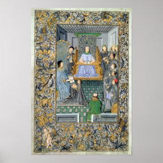 Frontispiece of Antonio de Nebrija s Gramatica Print