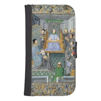 Frontispiece of Antonio de Nebrija's  'Gramatica' Galaxy S4 Wallet Case