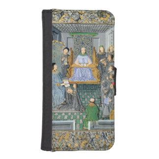 Frontispiece of Antonio de Nebrija's  'Gramatica' Phone Wallet