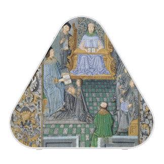 Frontispiece of Antonio de Nebrija's  'Gramatica' Speaker