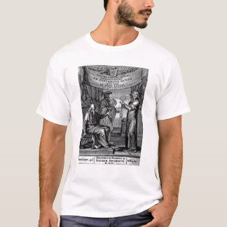 Frontispiece of 'Dialogus De Systemate Mundi' T-Shirt