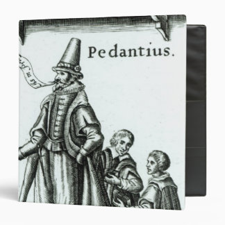 Frontispiece of 'Pedantius' 3 Ring Binder