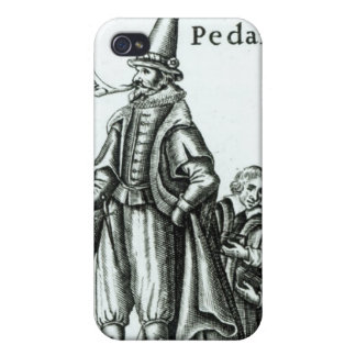 Frontispiece of 'Pedantius' iPhone 4 Case