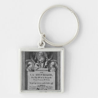 Frontispiece of the commentary keychain