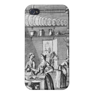 Frontispiece of 'The Compleat Housewife' iPhone 4 Covers
