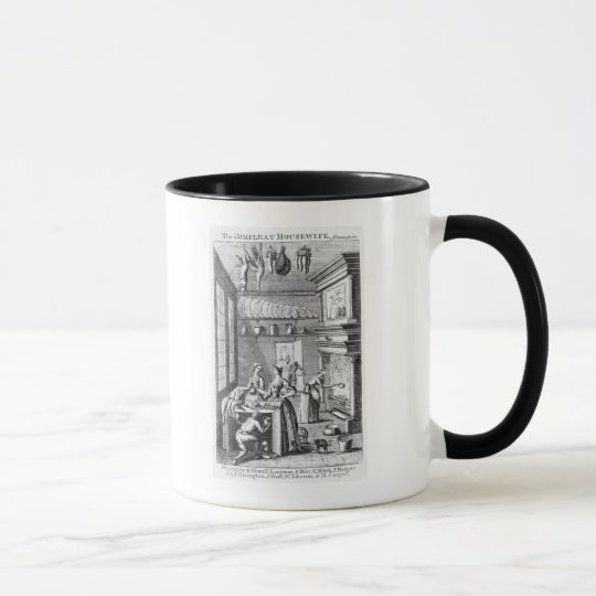 Frontispiece of 'The Compleat Housewife' Mug
