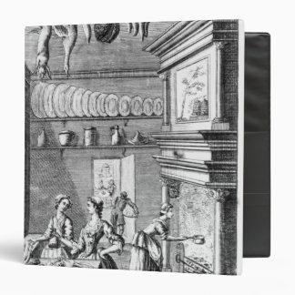 Frontispiece of 'The Compleat Housewife' Vinyl Binders