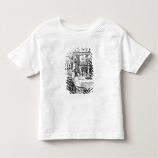 Frontispiece of 'The Housekeeper's Instructor' Toddler T-shirt