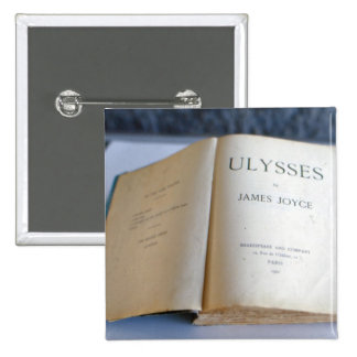 Frontispiece of 'Ulysses' by James Joyce Button