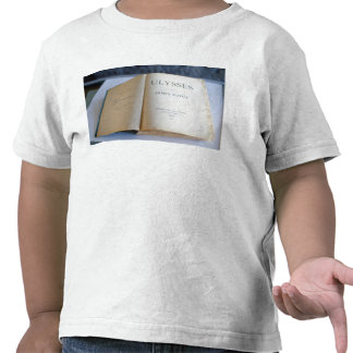 Frontispiece of Ulysses by James Joyce Tshirts