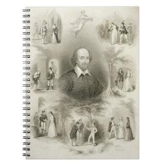 """Frontispiece para las """"comedias"""", 'del Complet Cuaderno"""