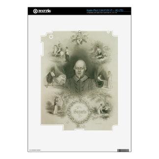 """Frontispiece para los """"sonetos"""", 'del completo iPad 3 skin"""