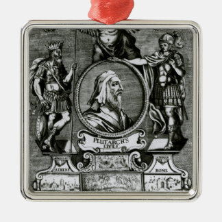 Frontispiece   'Plutarch's Lives' by Plutarch Metal Ornament