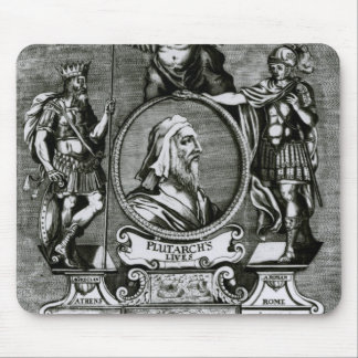 Frontispiece   'Plutarch's Lives' by Plutarch Mouse Pad