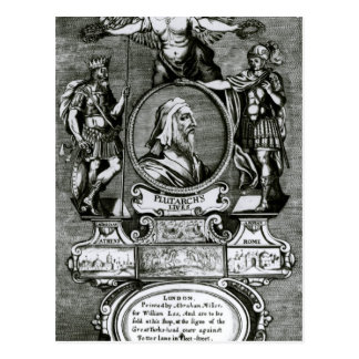 Frontispiece   'Plutarch's Lives' by Plutarch Postcard