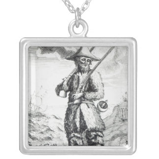 Frontispiece Silver Plated Necklace
