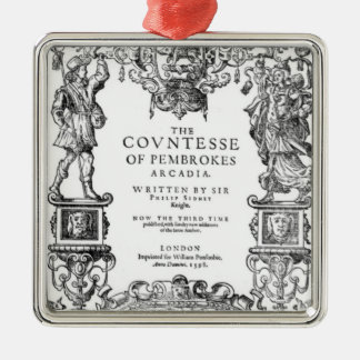 Frontispiece 'The Countess of Pembroke's Metal Ornament