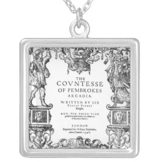 Frontispiece 'The Countess of Pembroke's Square Pendant Necklace