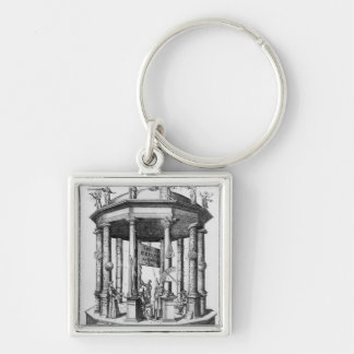 Frontispiece 'The Rudolphine Tables' Keychain