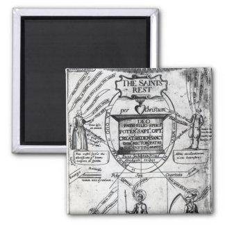 Frontispiece,  'The Saints Everlasting Rest' Magnet