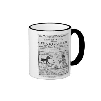 """Frontispiece  """"The Witch of Edmonton Mugs"""