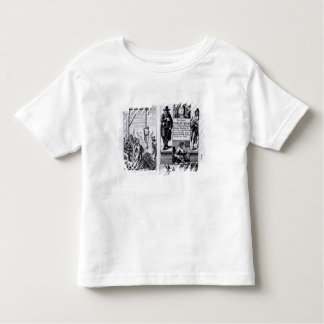 Frontispiece to 'An Exact Collection of Toddler T-shirt