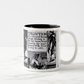 Frontispiece to 'An Exact Collection of Two-Tone Coffee Mug