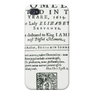 Frontispiece to 'Bartholomew Fair' Cover For iPhone 4